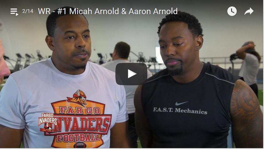 Wide Receiver Micah Arnold & Aaron Arnold Interview