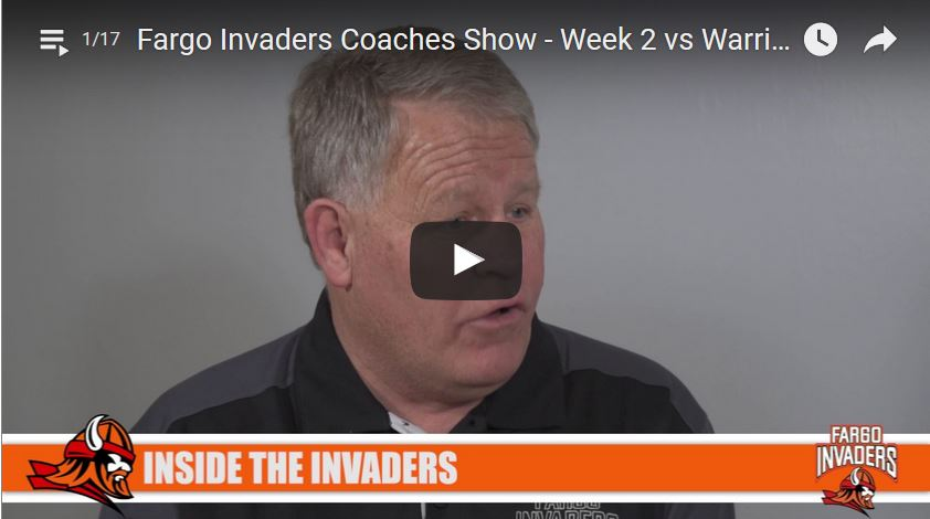 Coaches Show – Week 2 Vs Warriors (W 14-9)