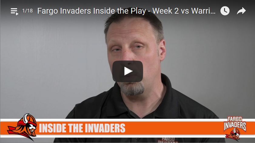 Inside The Play – Week 2 Vs Warriors (W 14-9)