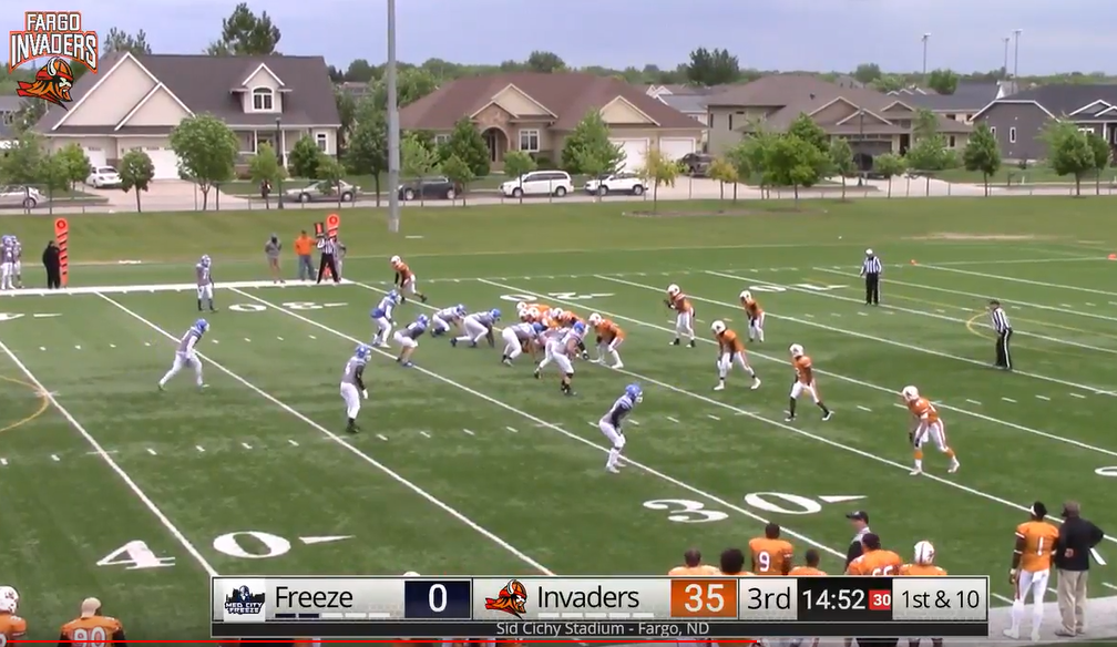 WATCH LIVE – Invaders Vs Freeze