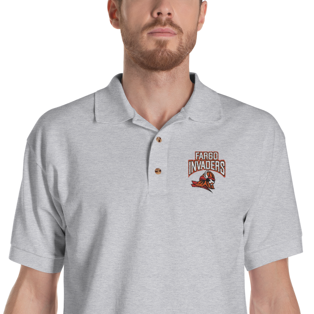 Embroidered Polo Shirt (4 Colors)