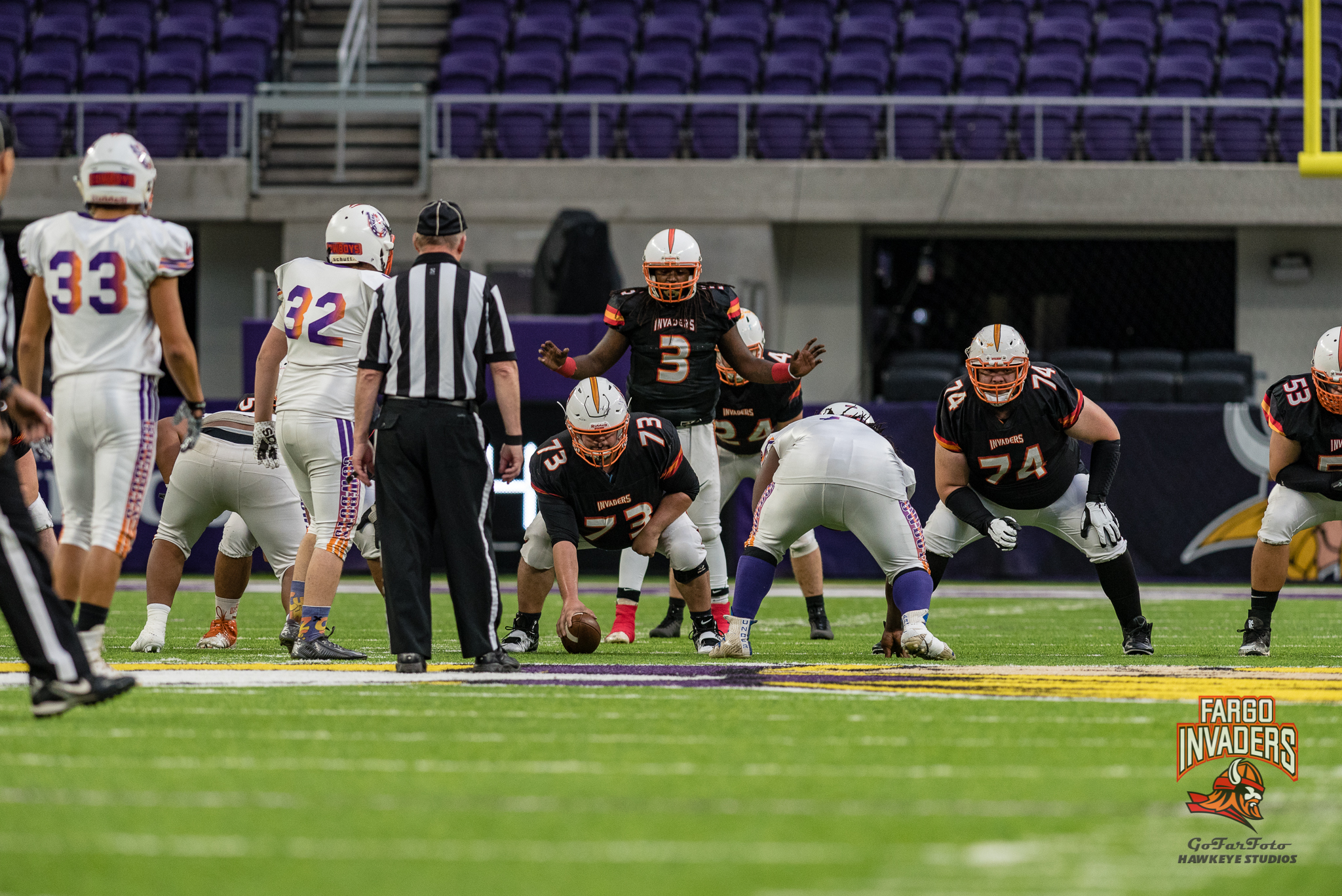 Fargo Invaders At The SPFL Winter Pigskin Classic 2018